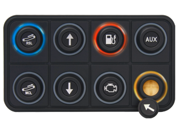 Picture of Blink Marine 8 Key CANopen Keypad