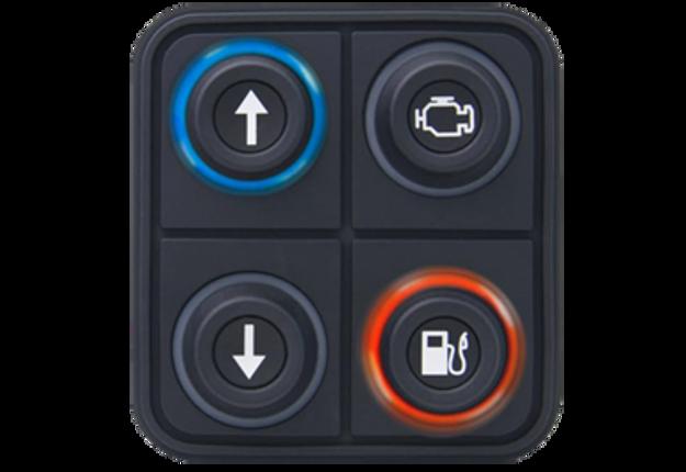 Picture of Blink Marine 4 Key CANopen Keypad